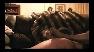 Hot wife gets seeded by a black bull in our living room