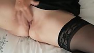 My slut fucking herself showing as much as possible