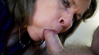 Susie Slut sucks cock and talks about herself
