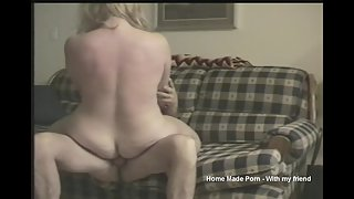 Short clip of me and my mature blonde girl
