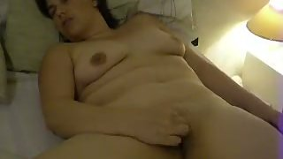 chubby milf masturbates to sweet intense body orgasm