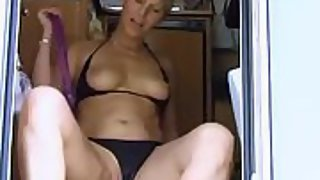 Horny mature blonde craving a cock in her mouth and pussy