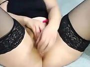 My mature friend's masturbation orgasm