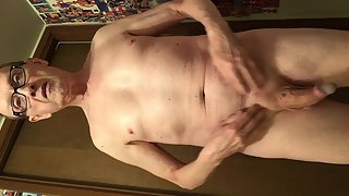 Exposed Faggot Pervert Slut Retracts Foreskin